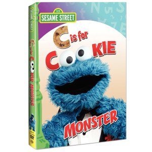 C Is For Cookie Monster DVD