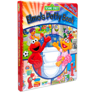 Elmo Look and Find Potty Book