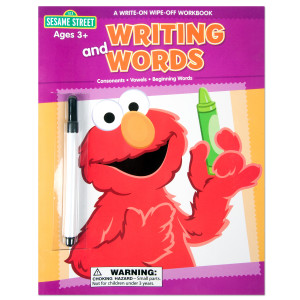 Sesame Street Writing and Words Workbook