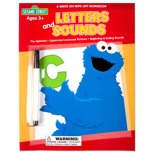 Sesame Street Letters and Sounds Workbook