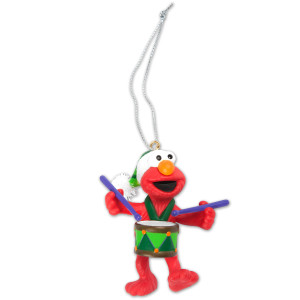Elmo with Drum Ornament