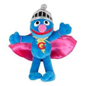 """Super Grover 7"""" Beanbag Plush"""