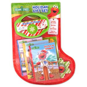 Sesame Street Christmas Gift Set Stocking