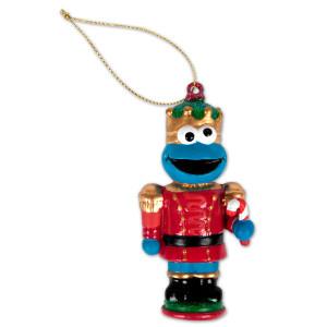 """Sesame Street 3.5"""" Cookie Nutcracker Ornament"""