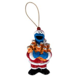 """Sesame Street 3.75"""" Cookie Ginger Men Ornament"""