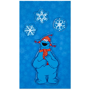 Sesame Street Cookie Window Cling