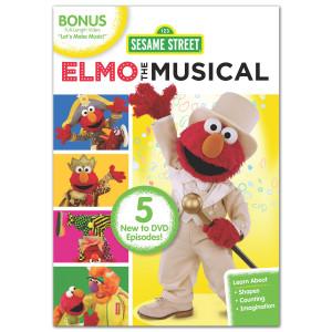 Sesame Street: Elmo the Musical DVD