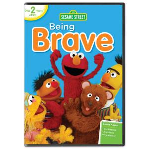Sesame Street: Being Brave DVD