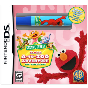 Elmo's A-to-Zoo Adventure Video Game - Nintendo DS