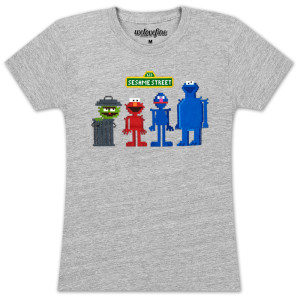 Sesame Bits Juniors T-shirt