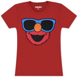 Elmo Big Shades Juniors T-shirt
