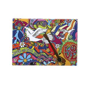 60'S Dove Design Magnet
