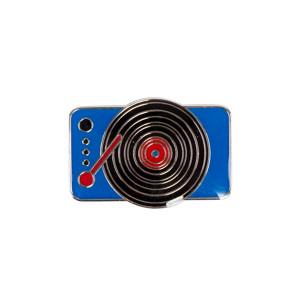 Enamel Turntable Pin