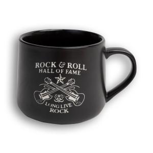 Etched Long Live Rock Double Guitar Mug