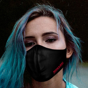 Adult Rock Hall Logo Face Mask