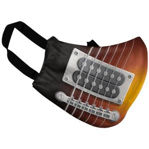 Adult Guitar At 11 Face Mask