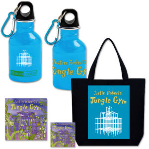 Jungle Gym CD + Water Bottle + Tote + Magnet