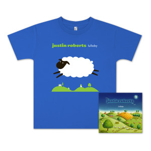 Justin Roberts Lullaby CD/T-Shirt Bundle