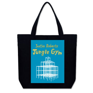 Jungle Gym Recycled Cotton Mini-Tote Bag