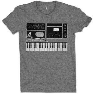 Page McConnell Synth T on Deep Heather