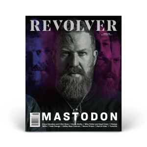 Limited Edition Relaunch Issue - Brent Hinds Cover