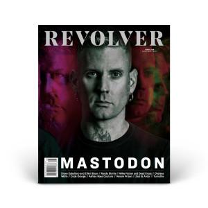 Limited Edition Relaunch Issue - Mastodon - Brann Dailor Cover