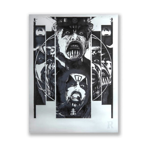 KING DIAMOND-INSPIRED ART PRINT — ONLY 150 AVAILABLE