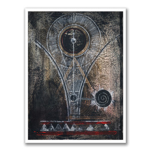 NINE INCH NAILS-INSPIRED ART PRINT - ONLY 250 AVAILABLE