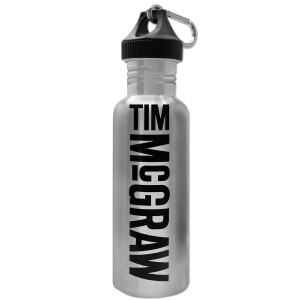 Tim McGraw 25 oz. Stainless Steel Water Bottle