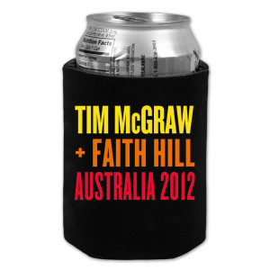 Tim McGraw + Faith Hill Collapsible Koozie
