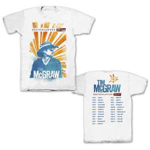 "Tim McGraw ""Brothers of the Sun"" Tour T-shirt"