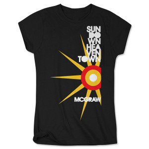 Tim McGraw Sundown Heaven Town Ladies T-shirt