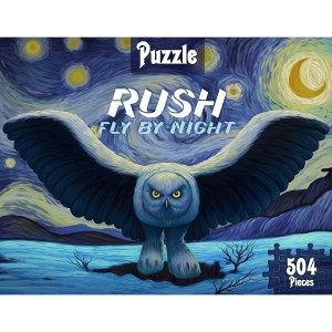 Fly by Starry Night Puzzle