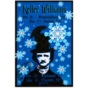 Keller Williams December 2009 Tour Poster
