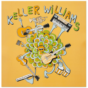 Keller Williams One Man Band Poster