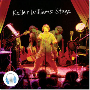 Keller Williams Stage CD