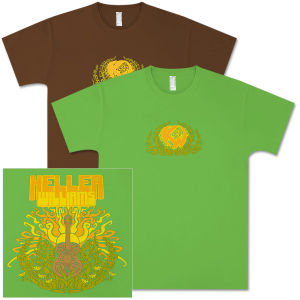 Keller Williams Sun Guitar T-Shirt