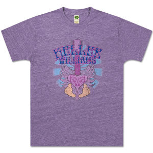 Keller Williams Purple Toes T-Shirt