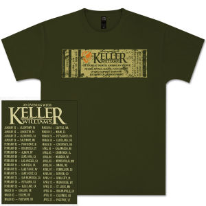 Keller Williams Ticket Tour T-Shirt