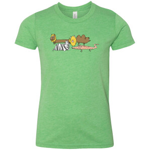 Chickapiglets Hybrid Animals Youth Shirt