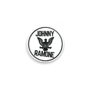 White Johnny Ramone™ Pin