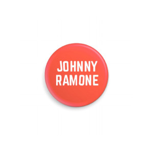 Red Johnny Ramone™ Pin