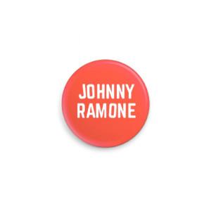 Red Johnny Ramone™ Pin