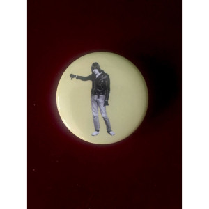 Yellow Johnny Ramone™ Pin
