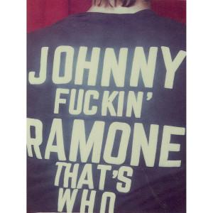 "Black 'Legend' Shirt ""Johnny Fuckin' Ramone"""