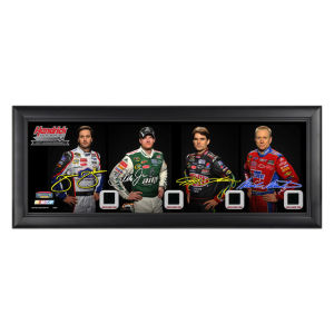 Dale Jr #88 Hendrick Motorsports 25th Anniversary Framed Panoramic Collectible