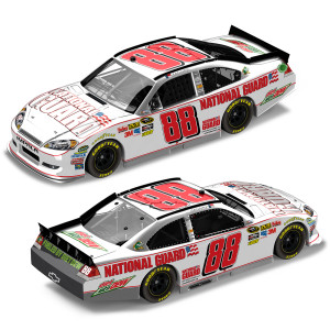 Dale Jr #88 2012 National Guard 1:24 Scale DieCast Frost