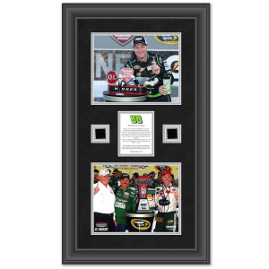 Dale Earnhardt Jr. 2012 Quicken Loans 400 Framed 2 8x10 Photos with Race-Used Tire - L.E. of 50