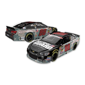 Dale Jr.  - #88 2014 National Guard An American Salute Diecast 1:24 Scale Color Chrome