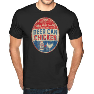 Whisky River Beer Can Chicken T-Shirt